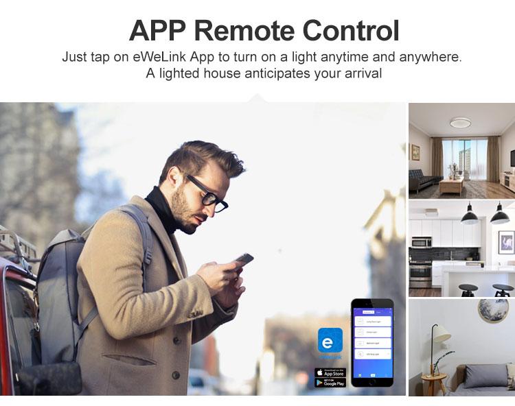 DUALR2 app remote control