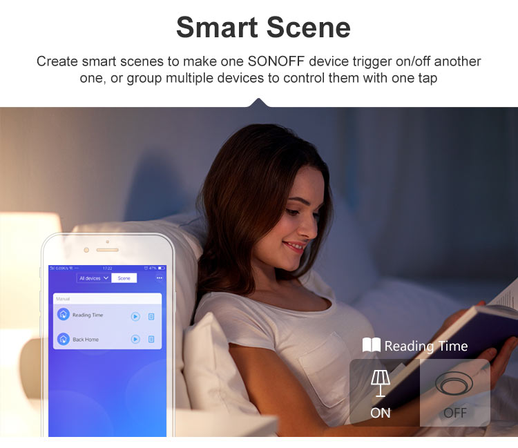 DUALR2 smart scene