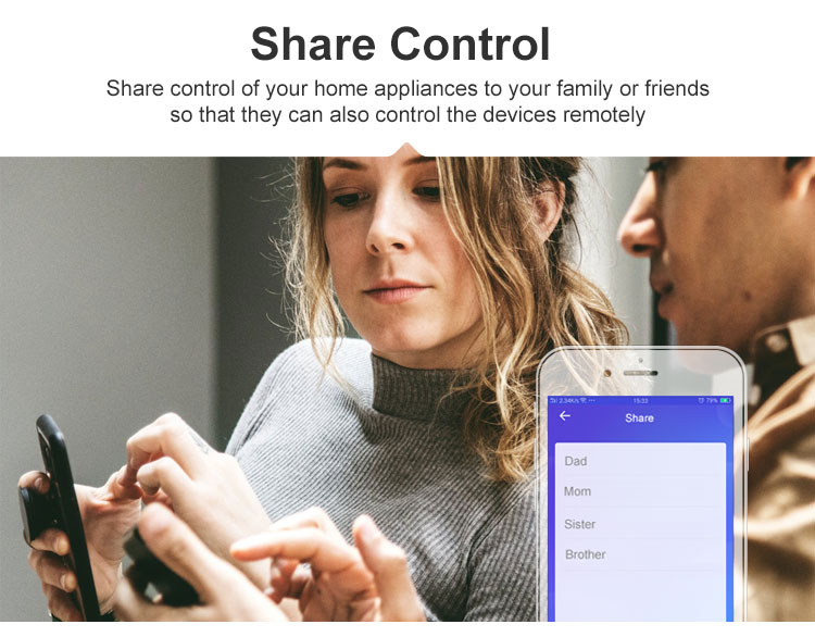 DUALR2 share control