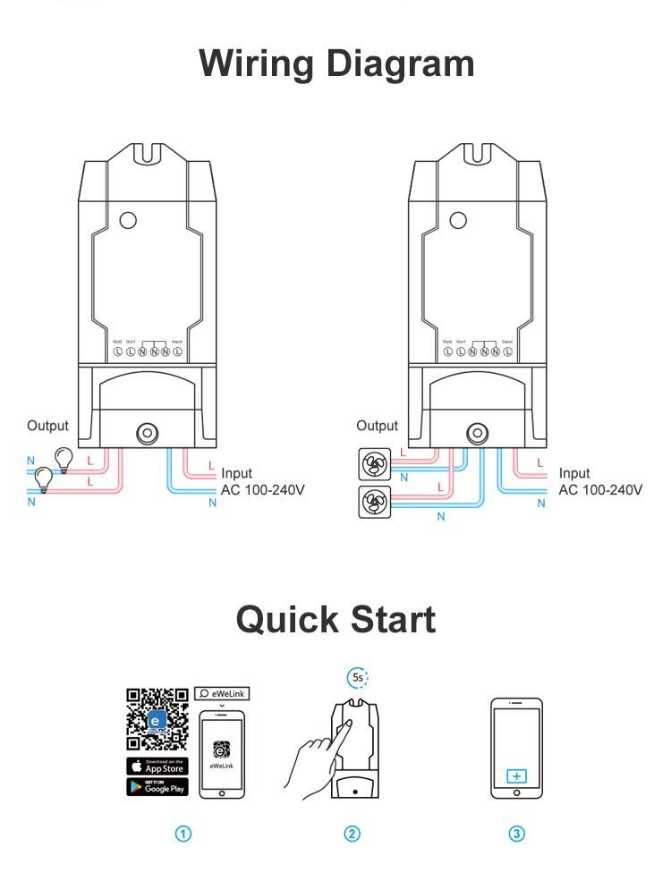 DUALR2 wiring instruction