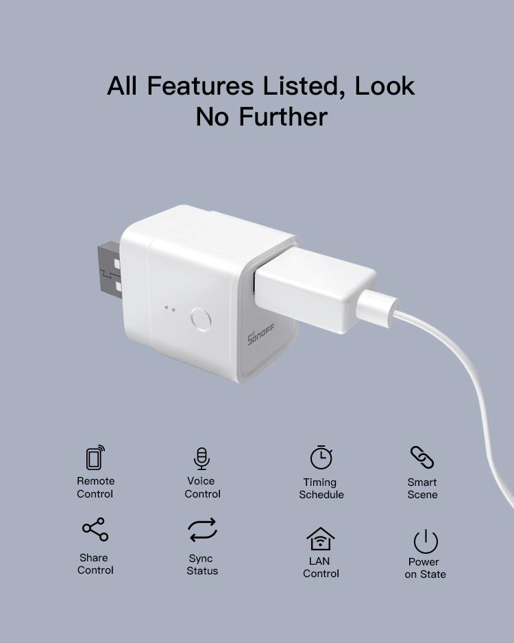 usb smart adaptor functions